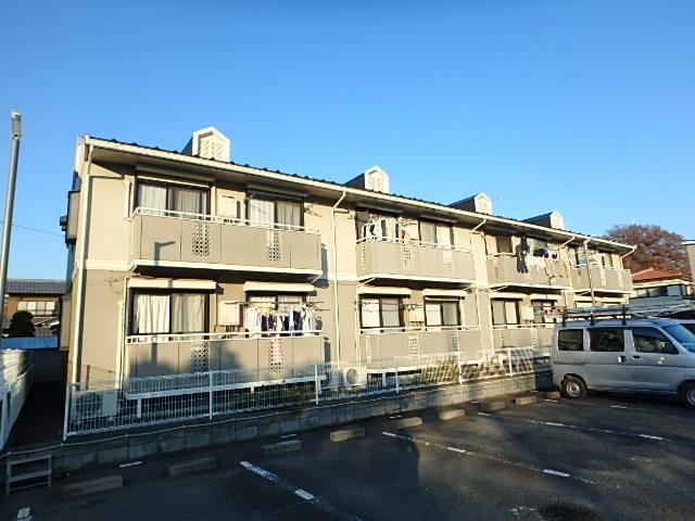 埼玉県さいたま市西区、日進駅徒歩21分の築25年 2階建の賃貸アパート