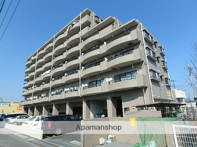 埼玉県さいたま市北区、日進駅徒歩13分の築24年 7階建の賃貸マンション