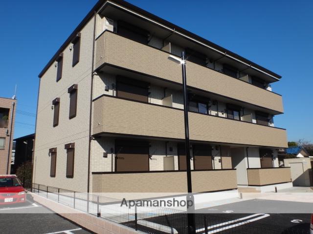 埼玉県さいたま市北区、土呂駅徒歩11分の築1年 3階建の賃貸アパート