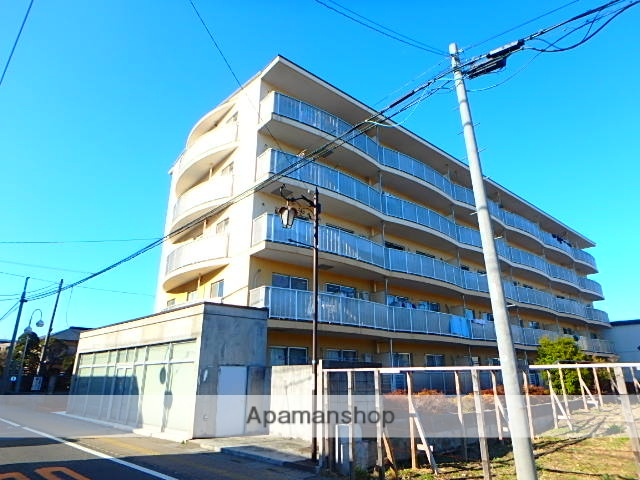 埼玉県上尾市、上尾駅徒歩9分の築27年 5階建の賃貸マンション