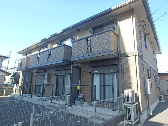 埼玉県さいたま市北区、土呂駅徒歩19分の築8年 2階建の賃貸アパート