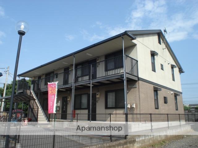 埼玉県さいたま市北区、今羽駅徒歩3分の築20年 2階建の賃貸アパート