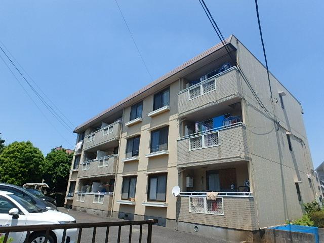 埼玉県さいたま市西区、指扇駅徒歩27分の築24年 3階建の賃貸アパート