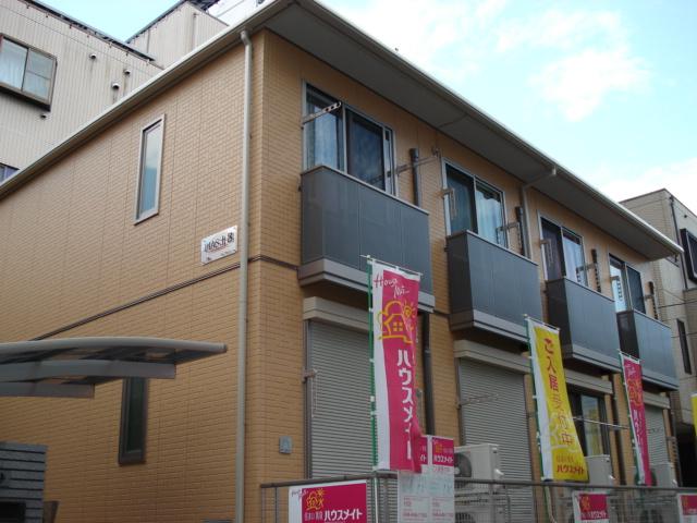 埼玉県さいたま市北区、土呂駅徒歩3分の築10年 2階建の賃貸アパート