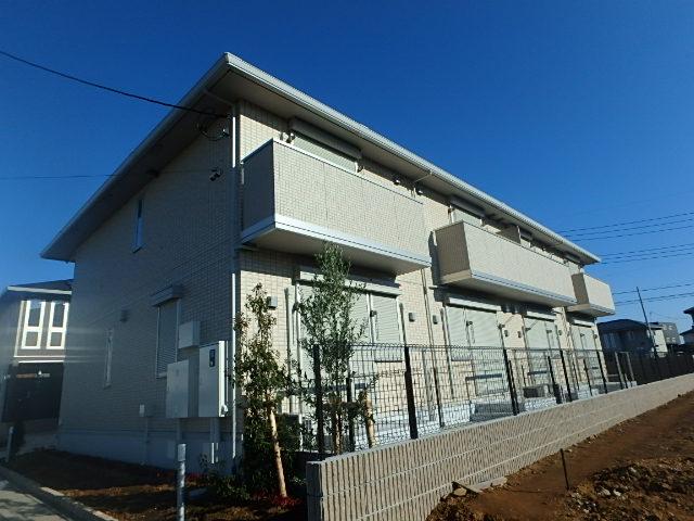 埼玉県さいたま市西区、指扇駅徒歩20分の築2年 2階建の賃貸アパート