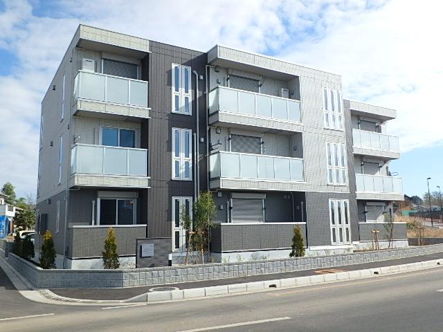 埼玉県さいたま市西区、指扇駅徒歩15分の新築 3階建の賃貸アパート