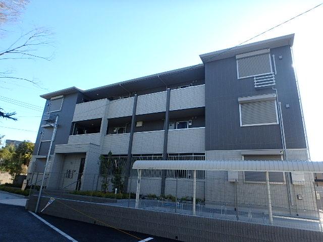 埼玉県さいたま市西区、日進駅徒歩33分の新築 3階建の賃貸アパート
