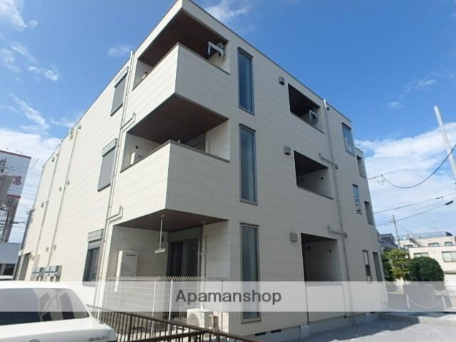 埼玉県さいたま市北区、日進駅徒歩15分の新築 3階建の賃貸マンション