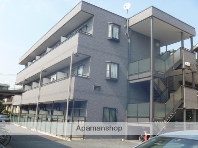 埼玉県さいたま市北区、日進駅徒歩17分の築14年 3階建の賃貸アパート