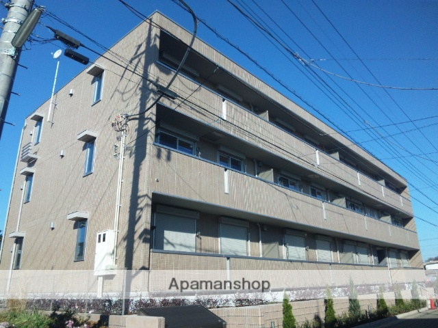 埼玉県さいたま市北区、宮原駅徒歩20分の築4年 3階建の賃貸アパート