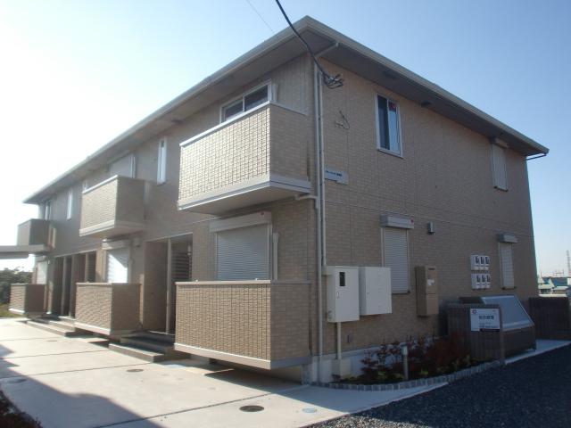 埼玉県上尾市、東大宮駅徒歩20分の築4年 2階建の賃貸アパート