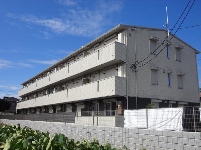 埼玉県さいたま市北区、土呂駅徒歩11分の築3年 3階建の賃貸アパート