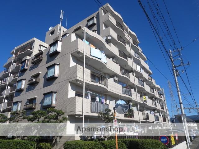 埼玉県さいたま市北区、宮原駅徒歩10分の築26年 7階建の賃貸マンション