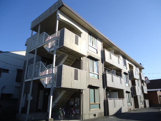 埼玉県さいたま市北区、日進駅徒歩4分の築26年 3階建の賃貸マンション