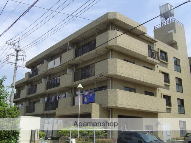 埼玉県さいたま市北区、日進駅徒歩10分の築31年 4階建の賃貸マンション
