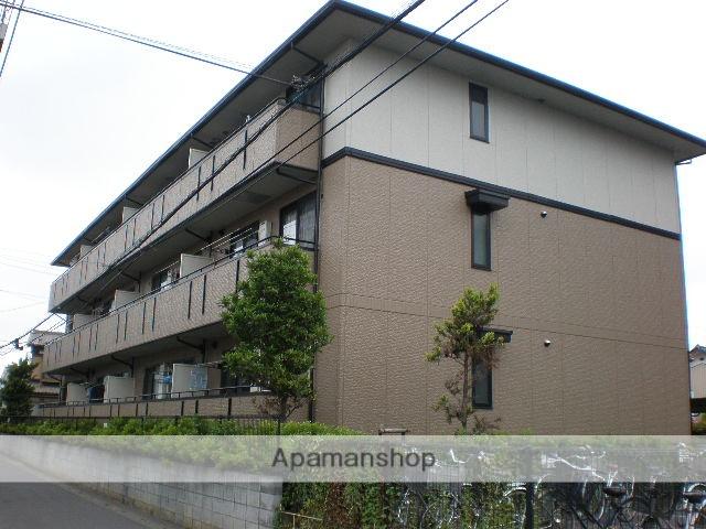 埼玉県さいたま市西区、指扇駅徒歩3分の築20年 3階建の賃貸マンション