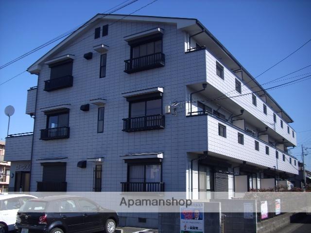 埼玉県さいたま市北区、日進駅徒歩8分の築21年 3階建の賃貸アパート
