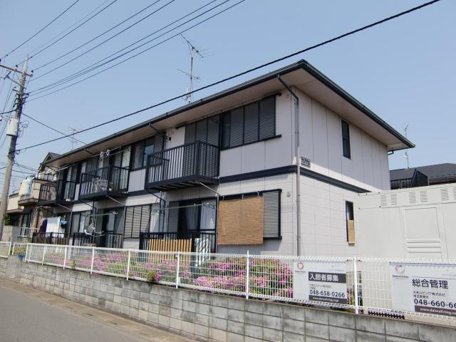 埼玉県さいたま市西区、日進駅徒歩17分の築21年 2階建の賃貸アパート