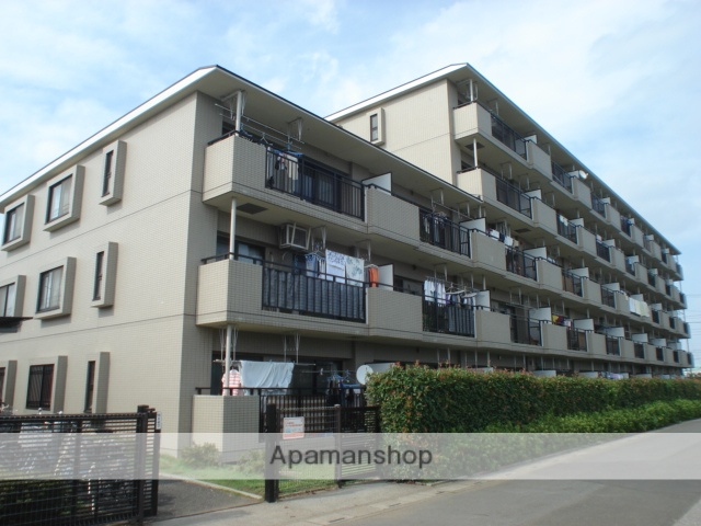 埼玉県さいたま市北区、土呂駅徒歩10分の築21年 5階建の賃貸マンション