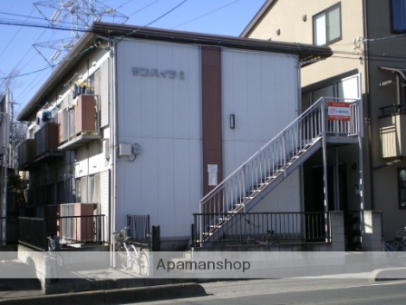 埼玉県さいたま市見沼区、東大宮駅徒歩10分の築33年 2階建の賃貸アパート