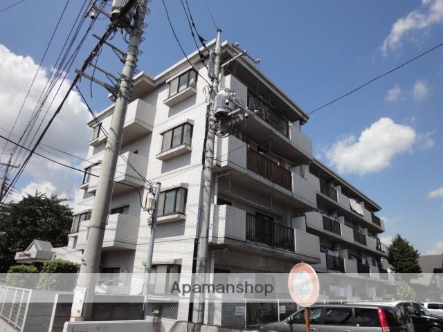 埼玉県さいたま市北区、日進駅徒歩20分の築27年 4階建の賃貸マンション