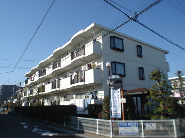 埼玉県さいたま市北区、土呂駅徒歩10分の築25年 4階建の賃貸マンション
