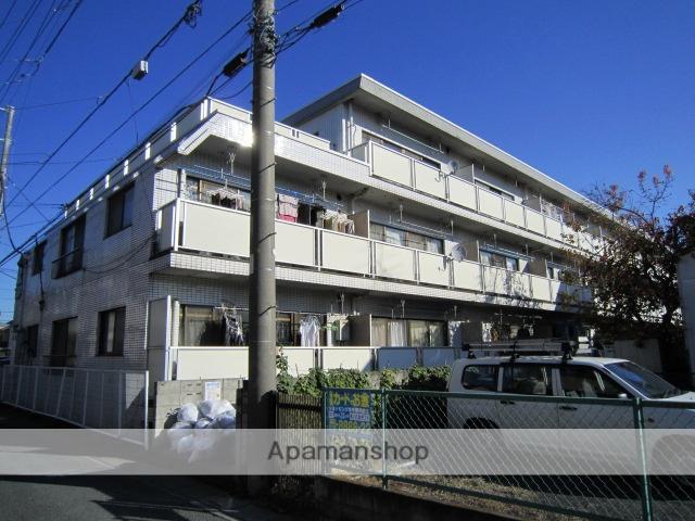 埼玉県さいたま市北区、日進駅徒歩7分の築29年 3階建の賃貸マンション