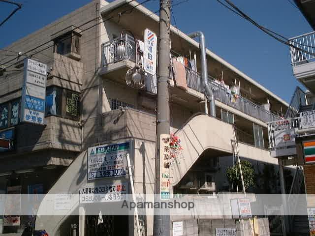埼玉県さいたま市北区、日進駅徒歩2分の築27年 3階建の賃貸マンション