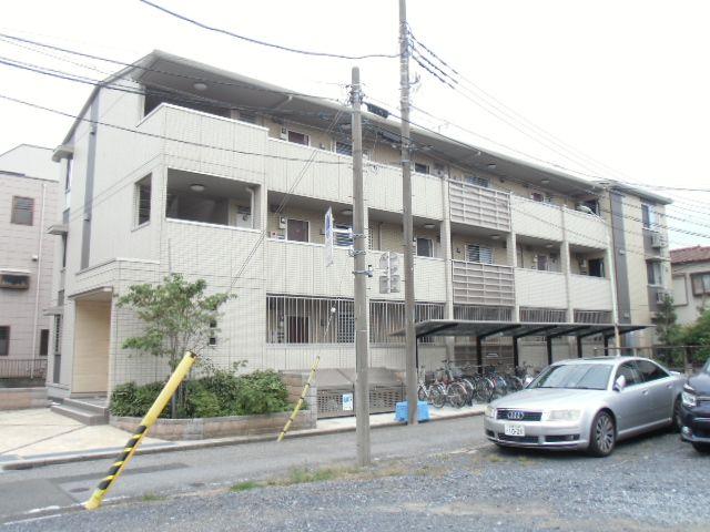 埼玉県蕨市、蕨駅徒歩20分の築7年 3階建の賃貸マンション