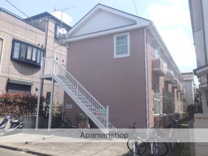 埼玉県川口市、蕨駅徒歩14分の築23年 2階建の賃貸アパート