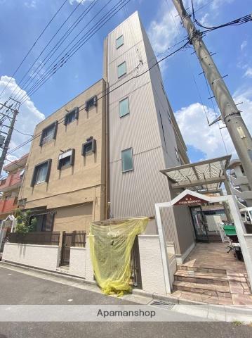 埼玉県川口市、蕨駅徒歩15分の築44年 4階建の賃貸マンション