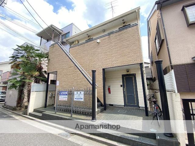 埼玉県川口市、蕨駅徒歩9分の築26年 2階建の賃貸アパート