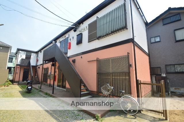 埼玉県川口市、蕨駅徒歩10分の築32年 2階建の賃貸アパート