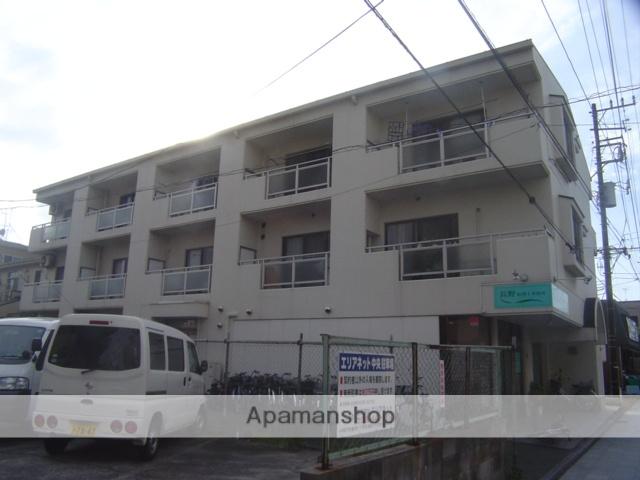 埼玉県蕨市、戸田駅徒歩17分の築27年 3階建の賃貸マンション