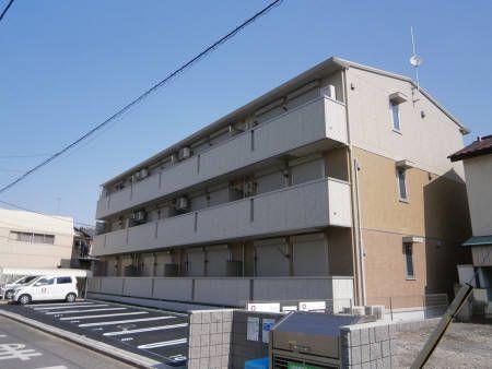 埼玉県蕨市、戸田公園駅徒歩24分の築3年 3階建の賃貸アパート