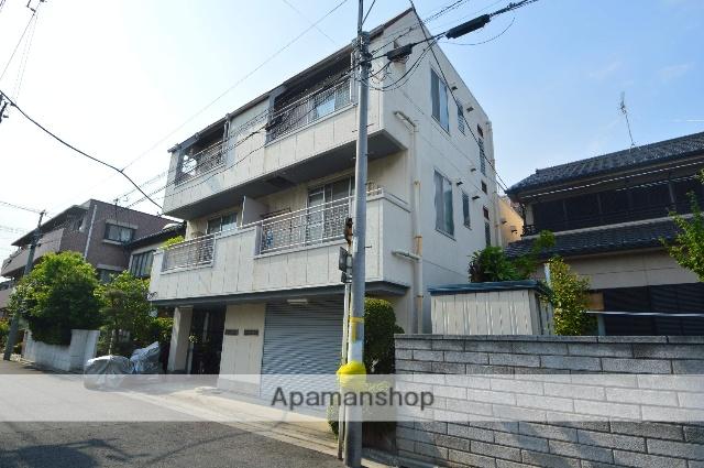 埼玉県川口市、蕨駅徒歩12分の築30年 3階建の賃貸マンション