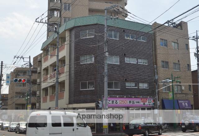 埼玉県川口市、蕨駅徒歩7分の築38年 4階建の賃貸マンション