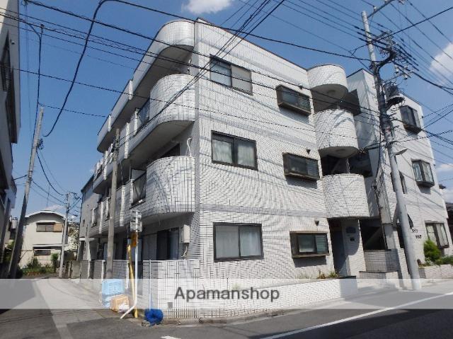 埼玉県蕨市、蕨駅徒歩8分の築26年 3階建の賃貸マンション