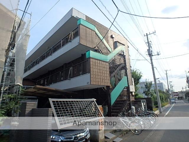 埼玉県蕨市、戸田公園駅徒歩38分の築36年 3階建の賃貸マンション