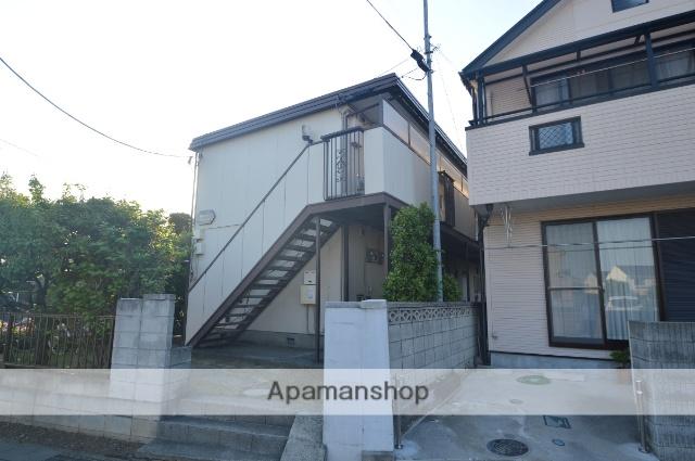 埼玉県川口市、蕨駅徒歩15分の築31年 2階建の賃貸アパート