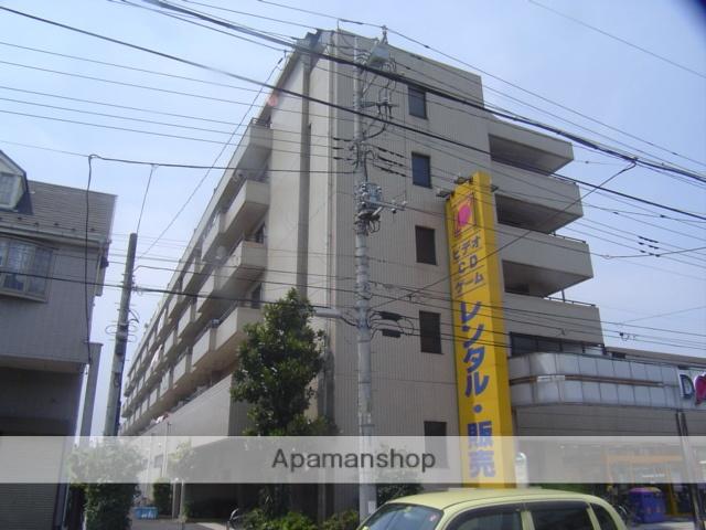 埼玉県蕨市、戸田公園駅徒歩28分の築25年 6階建の賃貸マンション