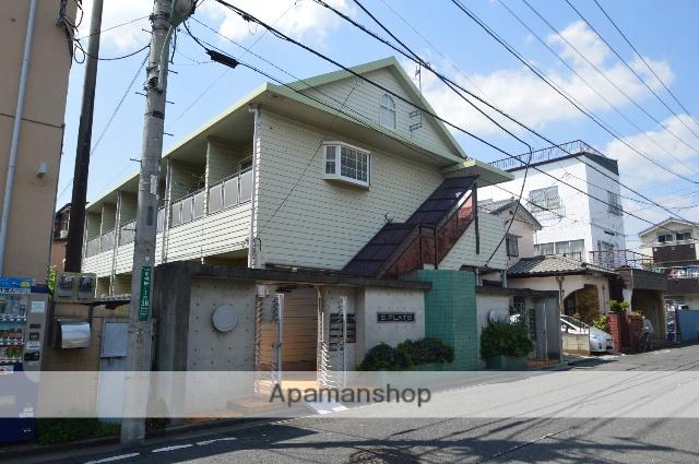 埼玉県川口市、蕨駅徒歩16分の築28年 2階建の賃貸アパート