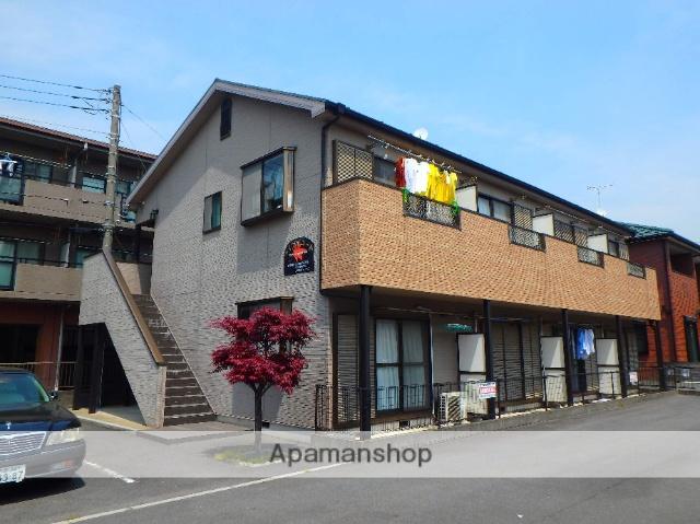 埼玉県川口市、蕨駅徒歩8分の築19年 2階建の賃貸アパート