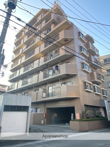 埼玉県川口市、蕨駅徒歩6分の築23年 8階建の賃貸マンション