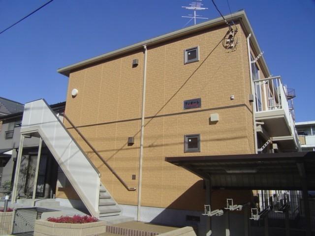 埼玉県川口市、南浦和駅徒歩20分の築10年 2階建の賃貸アパート