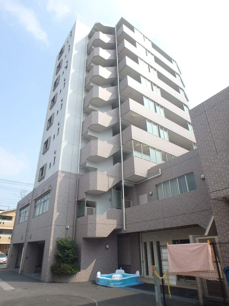 埼玉県戸田市、戸田公園駅徒歩12分の築8年 9階建の賃貸マンション