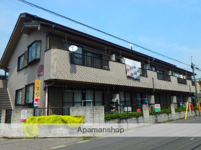 埼玉県川口市、蕨駅徒歩8分の築30年 2階建の賃貸アパート