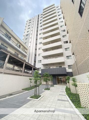 埼玉県川口市、蕨駅徒歩2分の築7年 14階建の賃貸マンション