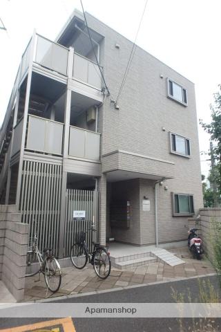 埼玉県蕨市、戸田公園駅徒歩23分の築7年 3階建の賃貸アパート