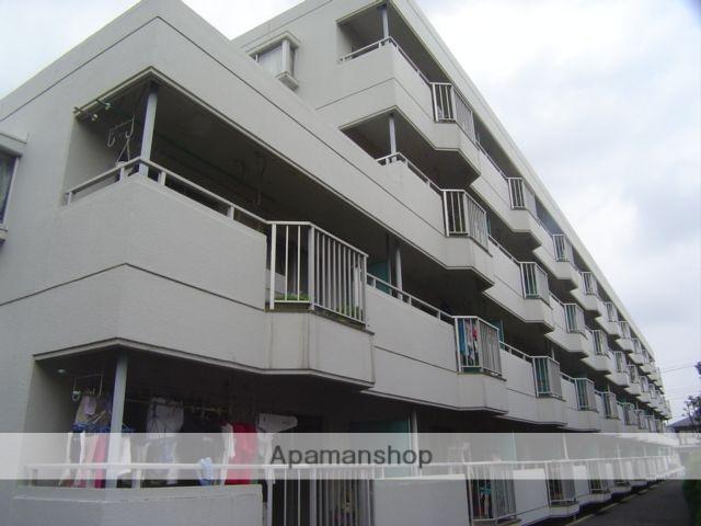 埼玉県蕨市、戸田駅徒歩20分の築30年 4階建の賃貸マンション